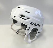 New CCM Resistance 100 Olympics Pro Stock/Return medium ice hockey helmet white