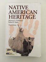 Native American Heritage Third Edition ISBN 9780881337730