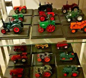 Hachette Universal Hobbies Tractor Tractors Die-cast Diecast 1:43