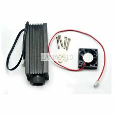 Focusable Laser Module Host for C Mount diode w/Heatsink and glass lens 33x80mm