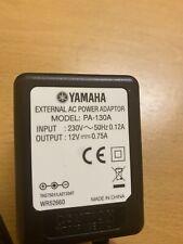 More details for original yamaha keyboard power adapter pa-130a, uk pin
