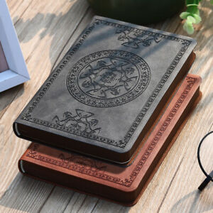 """""""Mystic"""" Vintage Pocket Diary Faux Leather Small Notebook Business Gift Journal"""