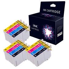 12 Ink cartridges for epson stylus S22 SX125 SX130 SX435W SX235W BX305FW Printer