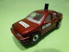 MATCHBOX OPEL VECTRA VAUXHALL CAVALIER GSi 2000 - POLICE 1:59 - GOOD CONDITION