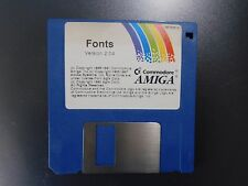Commodore Amiga 500 600 1000 2000: 2.04 fonts