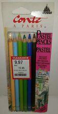 Conte Crayons Pastel Pencil Sketching Set of 6 Portrait 5 MM