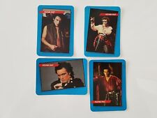 Adam Ant Rock Star Concert Cards Complete Set of 4 1985 AGI