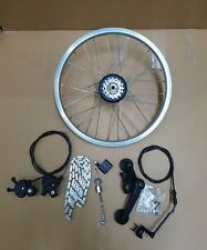 BROMPTON 6 SPEED BWR REAR WHEEL CONVERSION KIT FOLDING BIKE CYCLE WORLDWIDE