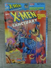Vintage Marvel Comics X-Men Sanctuary Sticker Activity Set 1996 Fleer Rare