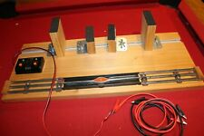 LIONEL TRAINS TEST TRACK SET STAND 027 O GAUGE OPERATING UNCOUPLE CARS ENGINE