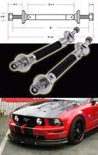 Black Carbon Bumper Lip Diffuser Struts Shock Rod Bar Support for Honda Acura
