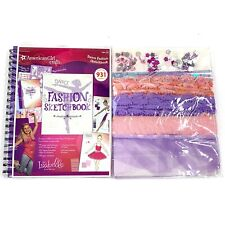 American Girl Crafts Dance Fashion Sketch Book Includes Stickers & Ribbons NEW