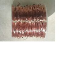 1 Pound (320 FT) OF #20 GAUGE (AWG) BARE SOLID COPPER WIRE CRAFT ART JEWELRY
