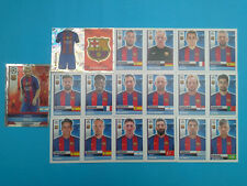 Topps Champions League 2016-17 2017 Team Barcelona 2016 2017 completo