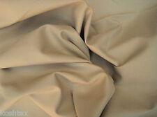 Cotton Twill Spandex Fabric by the Yard 4 Way Stretch KHAKI (Chino Material)