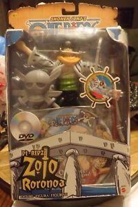 "Roronoa Zoro 7"" Mattel 2005 Action Figure Shonen Jump One Piece Pirates Pi-Ripz"