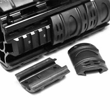 Rifle Weaver Picatinny Hand Guard Quad Rail Covers Rubber Tactical Black X 12