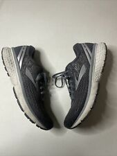 Brooks Mens Ghost 11 1102881D003 Ebony/Grey/SV  Running Shoes Lace Up Size 9.5 D
