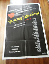 1966 Original One Sheet Movie Poster-the Poppy is Also a Flower - Rare Black
