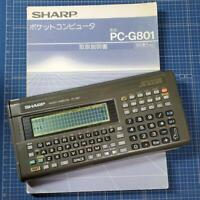 SHARP Pocket Computer PC-G801  BASIC CASL ASSEMBLER  Moving work