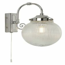 Searchlight 3259CC Belvue 1 Light Bathroom Wall Light Ip44 Rated Chrome Finish