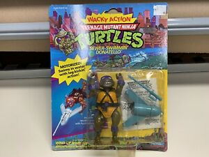 NEW VTG Teenage Mutant Ninja Turtles TMNT SEWER SWIMMIN' DONATELLO 1989 SEALED
