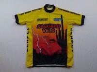 PYRO Apparel Saguaro Velo Leader Fair Wheel Large Bike Cycling Jersey Shirt MTB