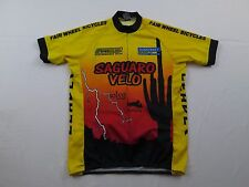 Used PYRO Apparel Saguaro Velo Leader Fair Wheel Bike Race Cycling Jersey Sz L