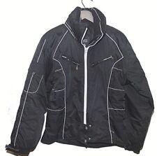 Nils Skiwear Womens Black Hooded Ski Jacket Size 8