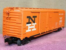 LIONEL SCALE #6-27877 NEW HAVEN NH 50FT DD BOX CAR w/AUTO FRAME LOAD NIB!!