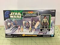 1998 Star Wars POTF 3-D Jabba's Palace Diorama, Han Solo in Carbonite, sealed!