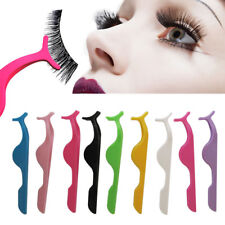 Plastic False Eyelash Makeup Tweezer Fake Eye Lash Applicator Clip Cosmetic Tool