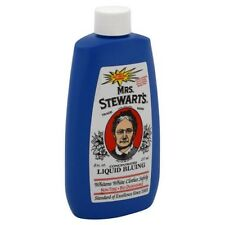 Mrs. Stewart's Liquid Bluing -- 8 oz.; Stewarts  Laundry Blueing  *PRIVATE*