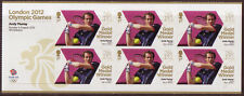 LA GRANDE-BRETAGNE LONDON 2012 ANDY MURRAY,TENNIS BLOC-FEUILLET UM.MNH