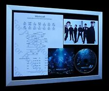 PENDULUM Witchcraft LIMITED Numbered CD FRAMED DISPLAY!