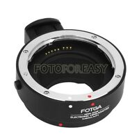 FOTGA AF Auto Focus Adapter for Canon EOS EFS Lens to EF-M M5 M3 + Tripod Mount