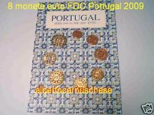 2009 Divisionale 8 monete EURO PORTOGALLO FDC portugal