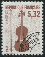 FRANCE 1992 PREOBLITERE N°223** Musique, Violon, TTB,  precancelled MNH