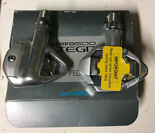 Pedali bici corsa Shimano 600 Ultegra SPD PD-6500 road bike pedals new