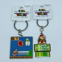 Super Mario Bros 2 Keychain Set  Nintendo World UNIVERSAL STUDIOS JAPAN 2020