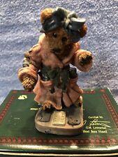 Boyds Bear & Friends Collection figurine ~ *Ms. Griz. Saturday Night* 1st Ed