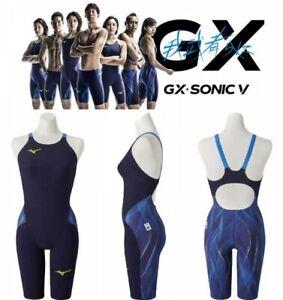 MIZUNO N2MG0201 2020 Model FINA Women's Swimsuit GX SONIC V ST Blue Japan EMS