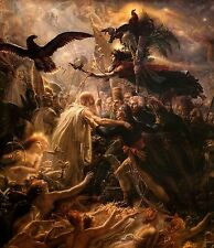 The Apotheosis of the French Heroes by Girodet Trioson Old Masters 6x10 Print