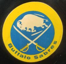 1973-76 BUFFALO SABRES  NHL CONVERSE OFFICIAL GAME USED PUCK USA ART ROSS