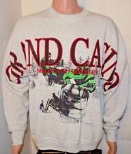 Grand Casino Vtg Crewneck Sweatshirt (XL) Snowmobile Mille Lacs Hinckley Walleye