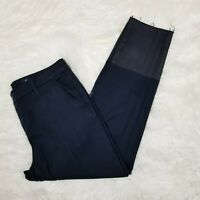 AG Adriano Goldschmied Size 28 Caden Tailored Trouser Pants Raw Hem Navy Blue