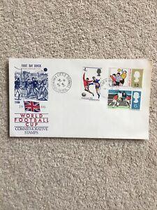 GB FDC 1966 WORLD CUP ENGLAND WINNERS Guardian Souvenir envelope