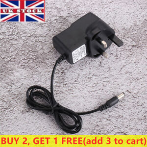 UK 6V 1A AC/DC Power Supply Adapters Charger Plug Mains Transformer For Toy Car