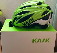 Kask Rapido Cycling Helmet - Lime - Size L Excellent Condition