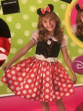 Girls Disney Minnie Mouse Child Costume - Small (4-6X)